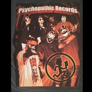 Other - Psychopathic Records ICP Twiztid Hatchetman Poster
